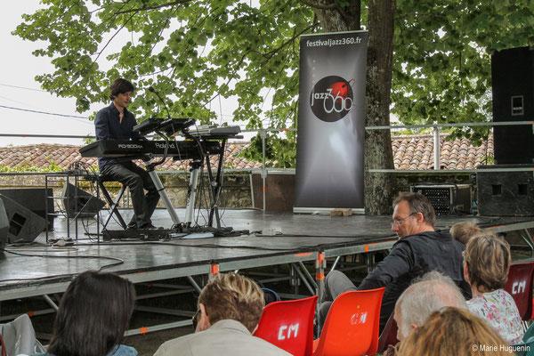 Phil Gueguen, Festival JAZZ360 2016, Camblanes-et-Meynac, 11/06/2016