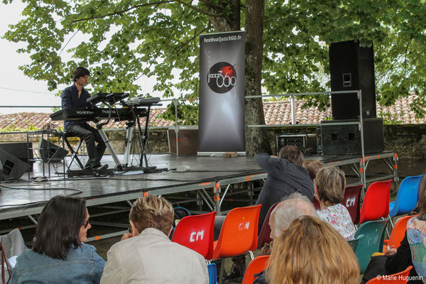 Phil Gueguen, Festival JAZZ360 2016, Camblanes-et-Meynac
