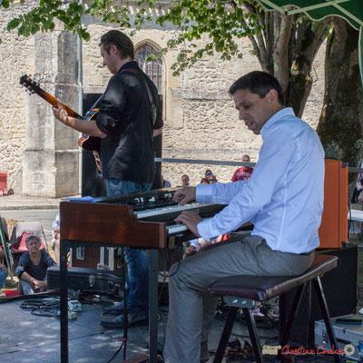 Cyril Amourette, Hervé Saint-Guirons; Soul Jazz Rebels. Festival JAZZ360, 10 juin 2017, Camblanes-et-Meynac