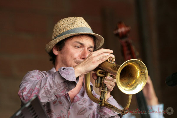 Yann Loustalot; Florinda Piticchio & Balarm Quartet, Festival JAZZ360 2011, Cénac. 05/06/2011