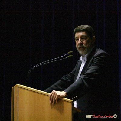 Alain Anziani, Sénateur de la Gironde. Lancement officiel de l'opération nationale Arbres de la Laïcité. Créon, 19/06/2010