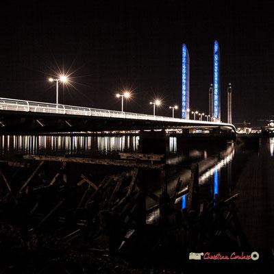 Pont Jacques Chaban-Delmas, Bordeaux. Mercredi 27 février 2019