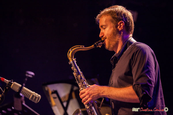 David Prez; Vincent Bourgeyx Quartet. Festival JAZZ360 2018, Cénac. 09/06/2018