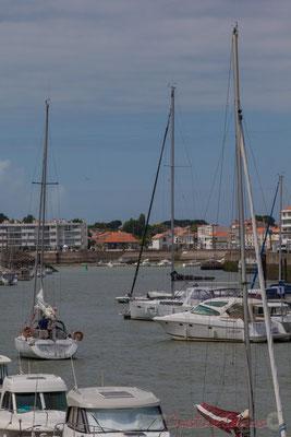 Promenade Marie Beaucaire. Port de plaisance, Saint-Gilles-Croix-de-Vie, Vendée, Pays de la Loire
