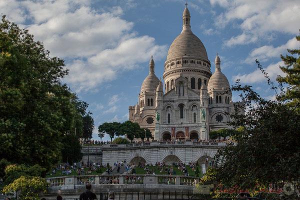 70mm, Square Louise Michel, Basilique du Sacré-Cœur de Montmartre, Paris 18ème arrondissement