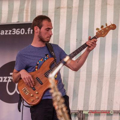 Romann Dauneau; Adrien Brandéis Quintet, Festival JAZZ360 2019, Langoiran. 06/06/2019