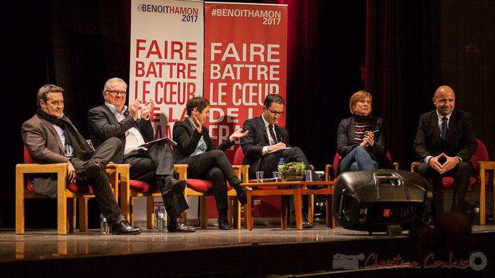 2 Pascal Lafargue, Jean-Marie Darmian, Naïma Charaï, Benoît Hamon, Andréa Kiss, Matthieu Rouveyre, Théâtre Fémina, Bordeaux