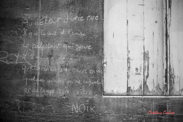 """""""Au détour d'une rue..."""" Quartier Saint-Michel, Bordeaux. Mercredi 24 juin 2020. Photographie © Christian Coulais"""