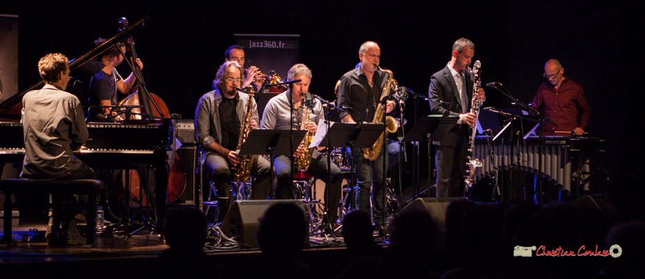Pierre de Bethmann et son Medium Ensemble 3. Festival JAZZ360 2019, Cénac. 07/06/2019