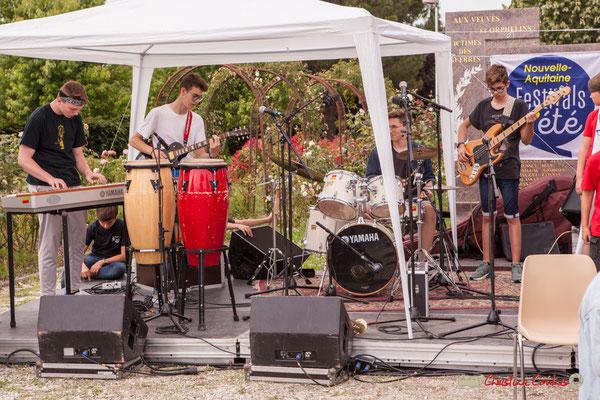 Big Band Jazz du Collège Eléonore de Provence, dirigée par Rémi Poymiro. Festival JAZZ360 2018, Cénac. 08/06/2018