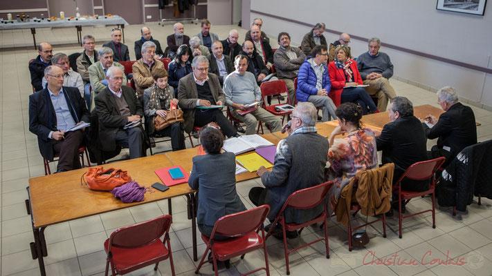 Près d'une cinquantaine d'élus locaux étaient présents ce matin lors de l'assemblée générale partagée avec Haux et Tabanac.