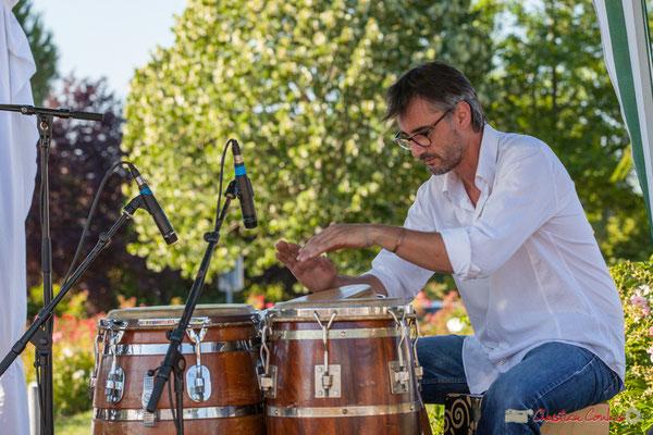 Jean-Marc Pierna, Gaétan Diaz Quintet. Festival JAZZ360, 10 juillet 2017, Cénac