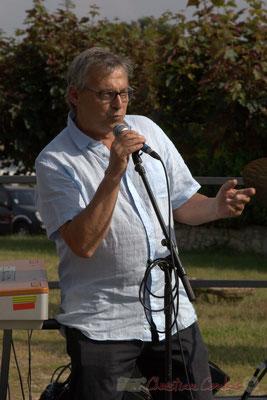 Richard Raducanu, Président de JAZZ360, 12/06/2016