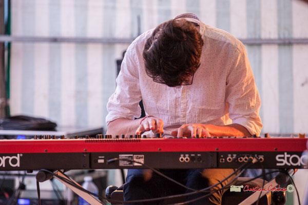 Adrien Brandéis; Adrien Brandéis Quintet, Festival JAZZ360 2019, Langoiran. 06/06/2019