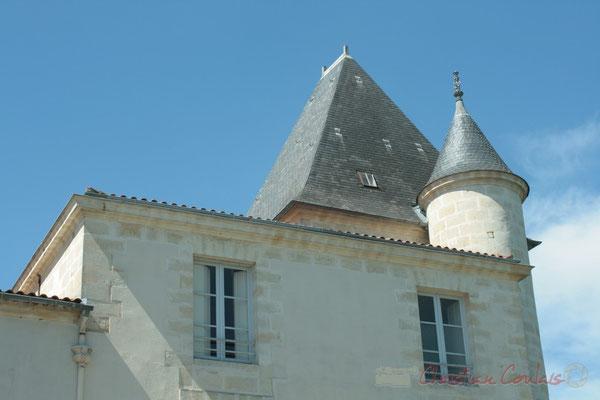 Détail d'architecture. Château de Latresne, site de l'Aérocampus Aquitaine