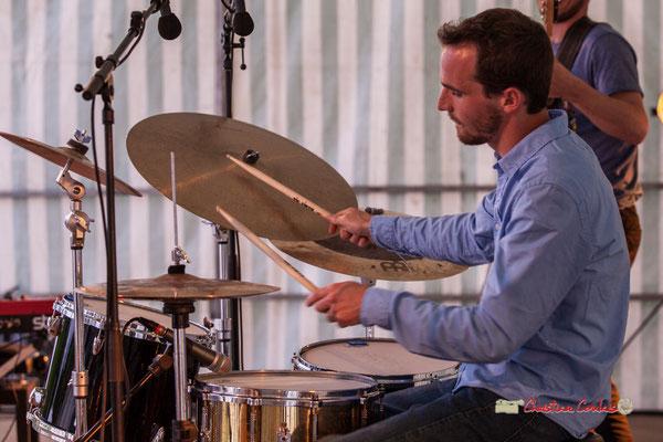 Félix Joveniaux; Adrien Brandéis Quintet, Festival JAZZ360 2019, Langoiran. 06/06/2019