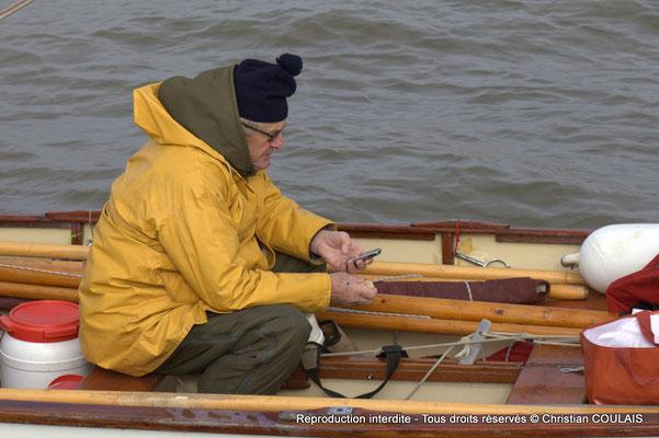 Casse-croûte de l'équipage de la yole le Seil. Bordeaux, samedi 16 mars 2013