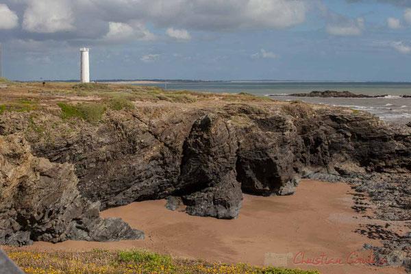 Phare de Basse Terre, Corniche Vendéenne, Vendée, Payse de la Loire