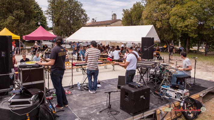The Protolites, scène d'été de la Gironde. Festival JAZZ360, Quinsac. 09/06/2019