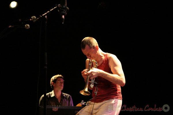 "Franck Woeste, Médéric Collignon; Médéric Collignon ""Jus de Bocse"". Festival JAZZ360 2011, Cénac. 04/06/2011"