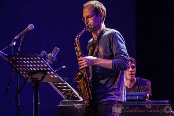 Le Jardin Quartet : Julien Dubois, saxophone. Festival JAZZ360 2016