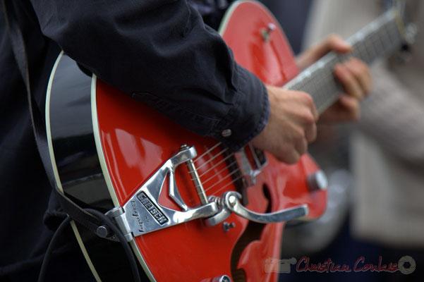 """Guitare Gretsch Bigsby"" Festival JAZZ360 2012, second atelier Jazz de l'I.R.E.M.; Cénac, 09/06/2012"