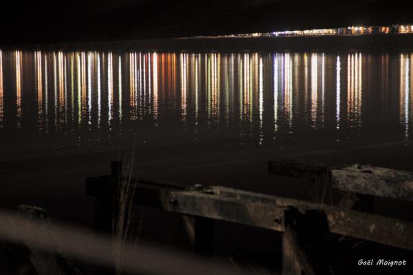 Les alentours du pont Jacques Chaban-Delmas photographiés par Gaël Moignot. Bordeaux, 27 février 2019