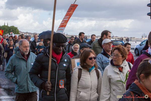 Manifestation du 1er mai 2017, avec la France Insoumise, quai Richelieu, Bordeaux