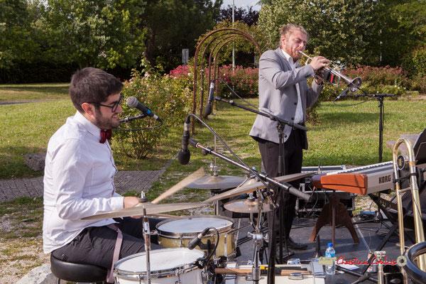 Julien Lavie, José Baloche; Jujubees Swing Combo. Festival JAZZ360, Cénac. 08/06/2019