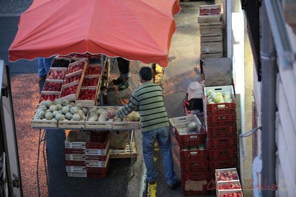Fruits et légumes, Marché de Créon, Gironde