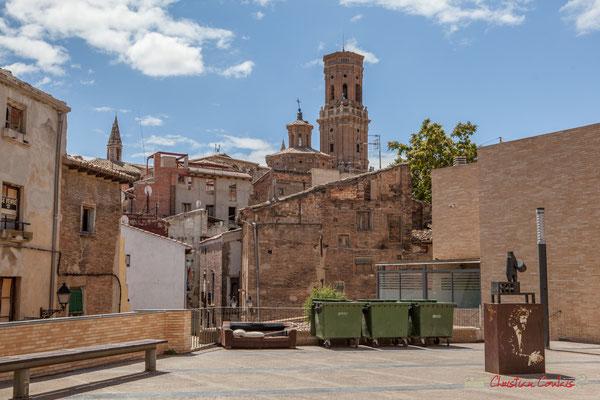 Quartier historique, avec rénovation en cours et maisons à vendre / Barrio histórico, con renovación en curso y casas en venta, Catedral Santa Maria la Blanca, Tudela, Navarra