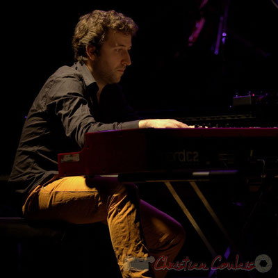 Festival JAZZ360 2015, Laurent Coulondre. Cénac, 12/06/2015