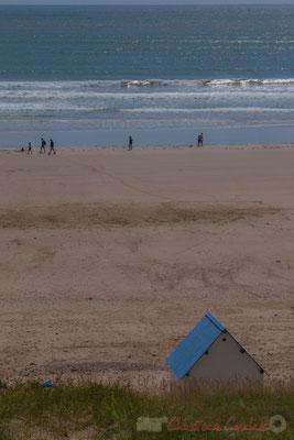 Cabine de plage, Promenade Marie Tsvetaieva, Saint-Gilles-Croix-de-Vie, Vendée, Pays de la Loire