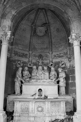 La chapelle du Saint-Sépulcre (détail). 28/09/2019. Photographie © Gaël Moignot