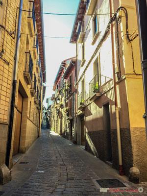 Rue de Tafalla, Navarre