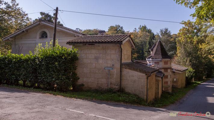 Départ de l'avenue Rauzé-Sybil; La Musardière, avenue Pierre Larquey, Cénac, Gironde. 16/10/2017