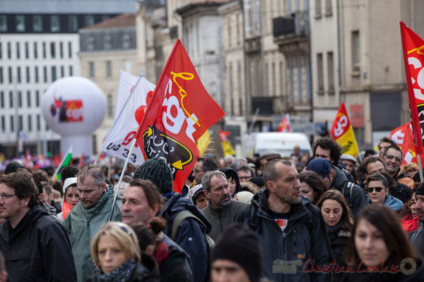 14h40, CGT-Educ'Action. Place Gambetta, Bordeaux