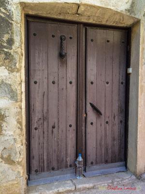 Porte d'entrée principale d'une maison /  Puerta principal a una casa, Aibar, Navarra