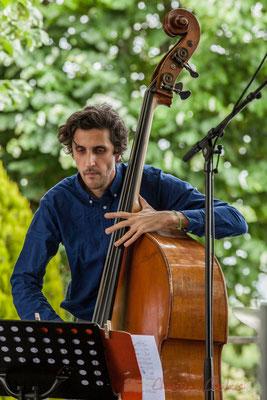 Eric Séva Quartet : Kevin Reveyrand. Festival JAZZ360 2016, Camblanes-et-Meynac, 11/06/2016