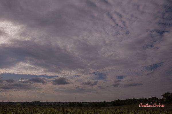 Ciels et nuages, vendredi 24 avril 2020, 18h23, le Garde, Cénac. Photographie : Christian Coulais / 24mm
