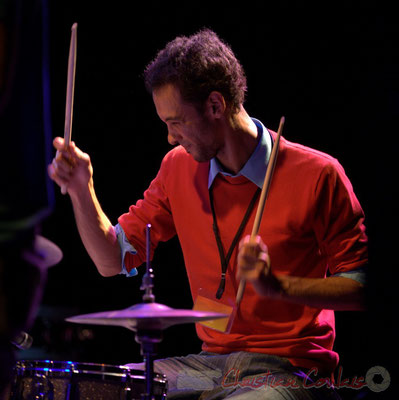 Curtis Efoua; Edmond Bilal Band, Festival JAZZ360 2013, Cénac. 07/06/2013