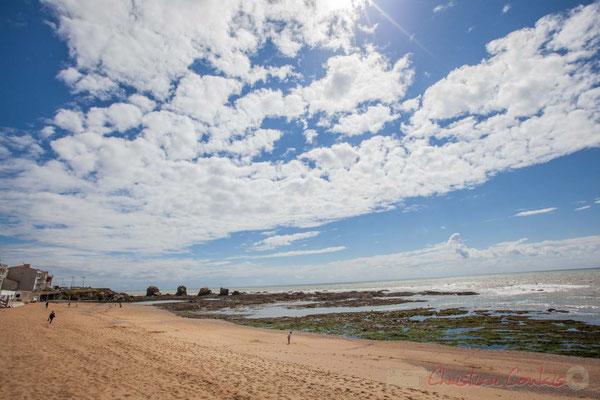 Plage des Cinq Pineaux, Corniche vendéenne, Vendée, Pays de la Loire