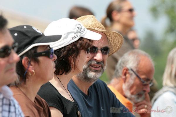 """""""Le port du chapeau est recommandé"""" Festival JAZZ360, Quinsac. 05/06/2011"""