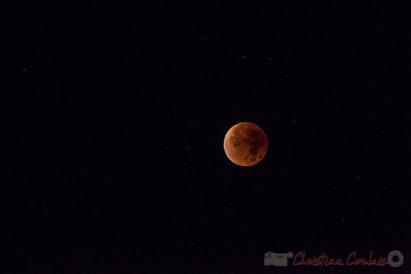 Eclipse totale de Lune, Super Lune de sang