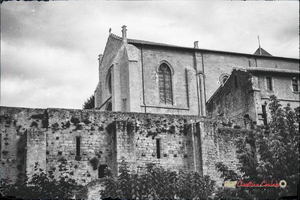 Eglise Saint-Sauveur, aile méridionale du monastère bénédictin. Cité médiévale de Saint-Macaire. 28/09/2019. Photographie © Christian Coulais