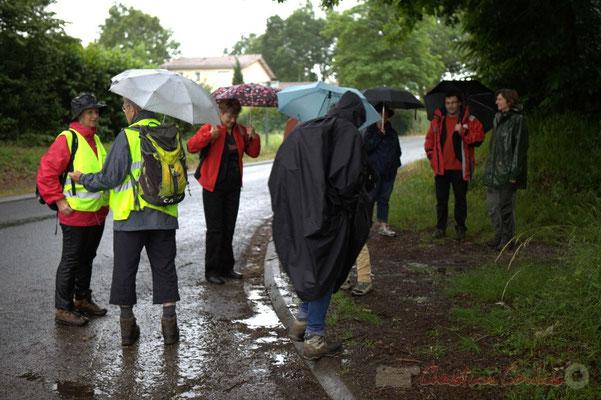 Avenue du bois des filles, Cénac; Randonnée jazzy avec les Choraleurs. Festival JAZZ360 2012, dimanche 10 juin 2012