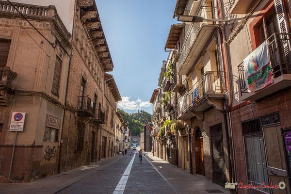 Calle Mayor, Sangüesa, Navarra