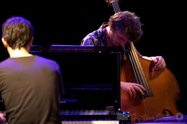 Philippe Gueguen, Philippe Siffre; Edmond Bilal Band, Festival JAZZ360 2013, Cénac. 07/06/2013