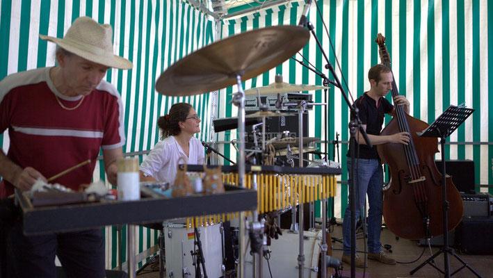 Festival JAZZ360 2014, Philippe Cauvin, Pascale Martinez, Fred Monkeys; Jazzméléon Trafic. Cénac, 07/06/2014