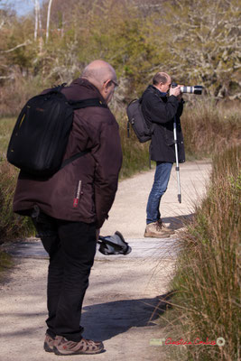 Premières photographies pour Gaël Moignot. Réserve ornithologique du Teich, samedi 16 mars 2019
